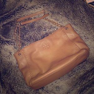 Tory Burch Brown Shoulder Bag Tote Bag